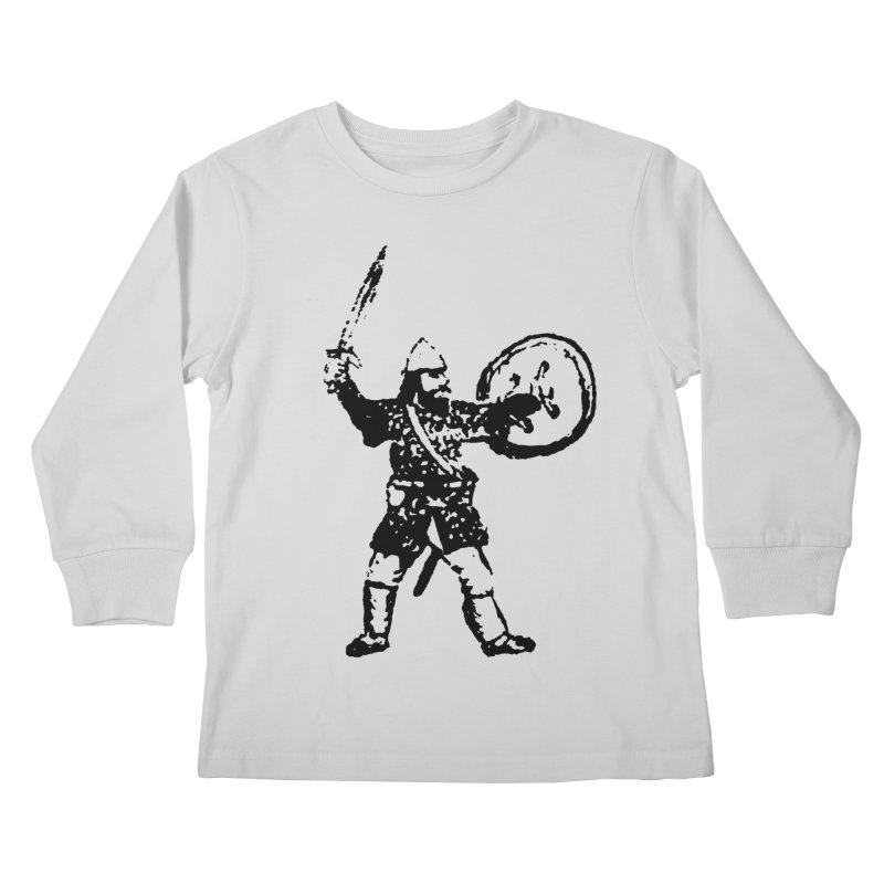 RPG Dwarf Attack Kids Longsleeve T-Shirt by megatrip's Artist Shop