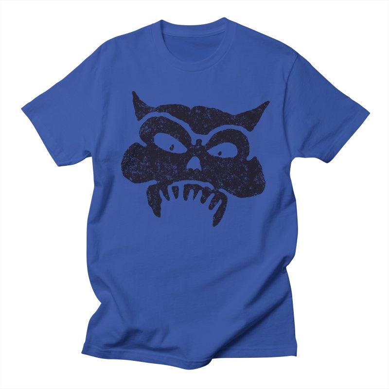 Battered Demon Skull v1 Men's T-shirt by megatrip's Artist Shop