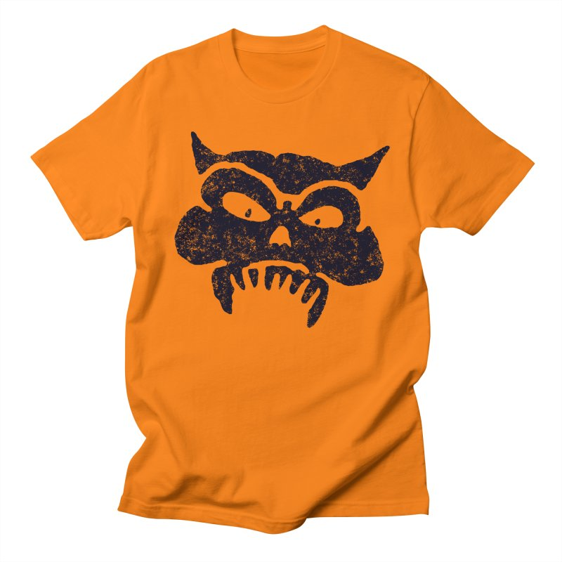 Battered Demon Skull v1 Women's Unisex T-Shirt by megatrip's Artist Shop