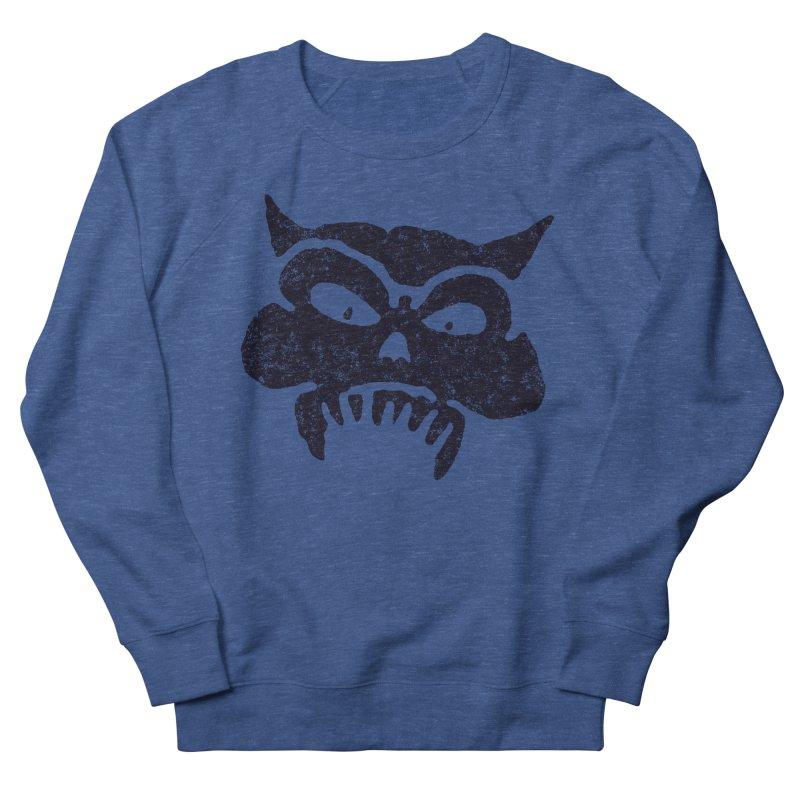 Battered Demon Skull v1 Women's Sweatshirt by megatrip's Artist Shop