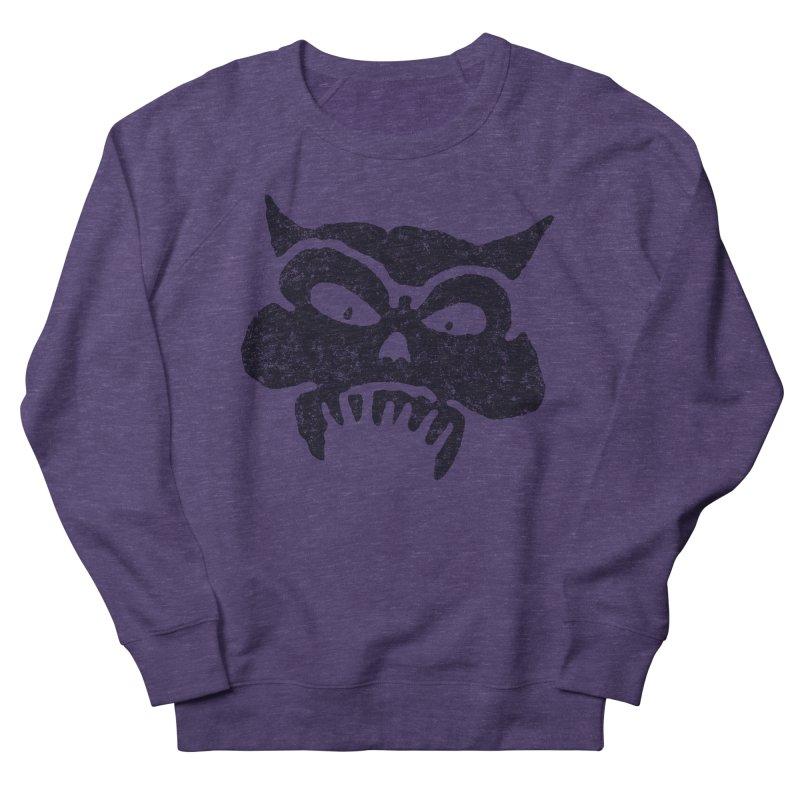 Battered Demon Skull v1 Men's Sweatshirt by megatrip's Artist Shop