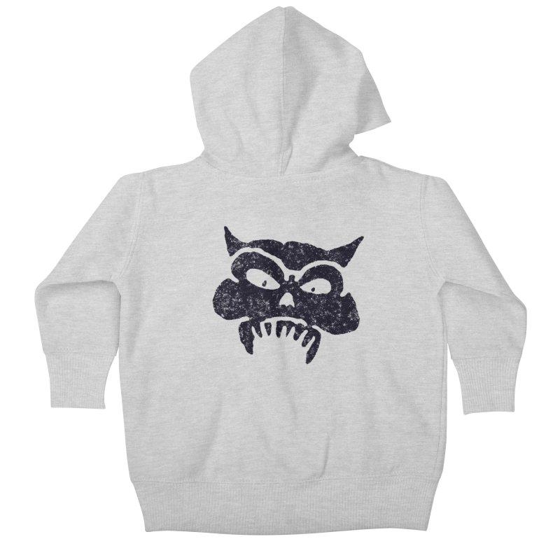 Battered Demon Skull v1   by megatrip's Artist Shop