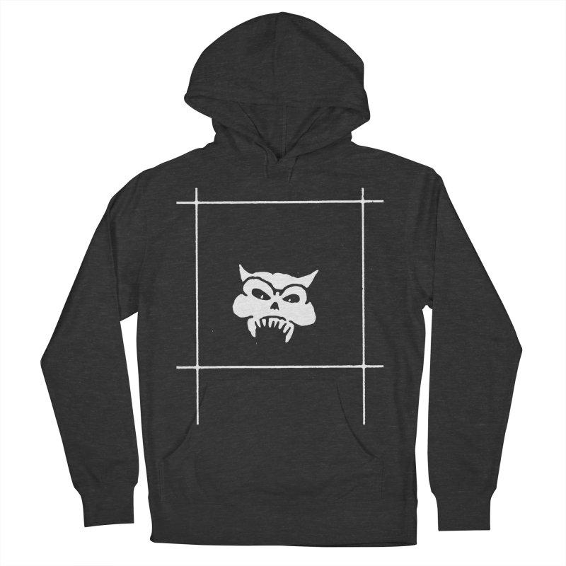Battered Demon Skull v2 Women's Pullover Hoody by megatrip's Artist Shop