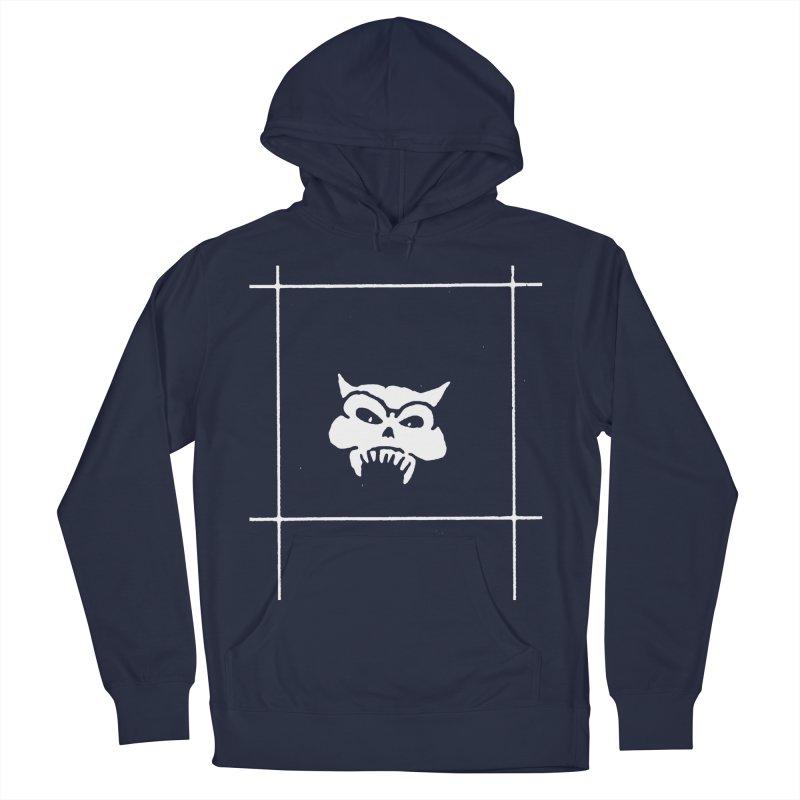 Battered Demon Skull v2 Men's Pullover Hoody by megatrip's Artist Shop