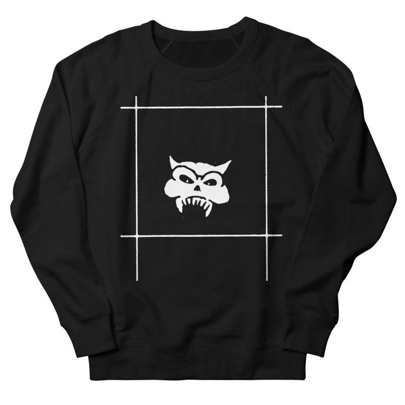 Battered Demon Skull v2 Men's Sweatshirt by megatrip's Artist Shop