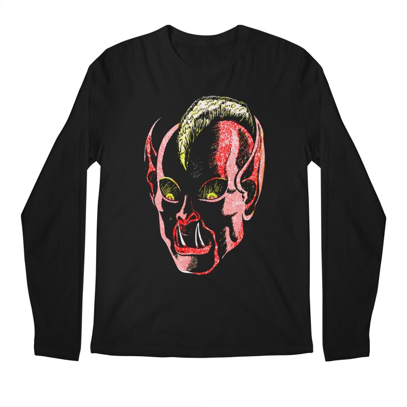Haunted Head v1 Men's Longsleeve T-Shirt by megatrip's Artist Shop