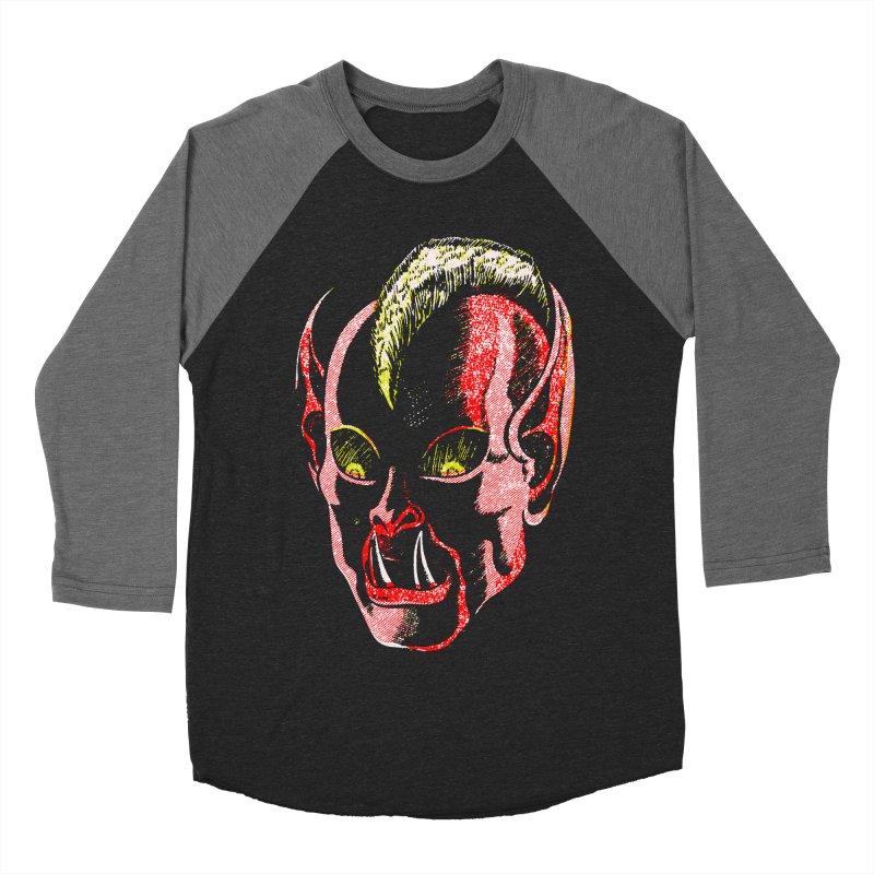 Haunted Head v1 Women's Baseball Triblend T-Shirt by megatrip's Artist Shop