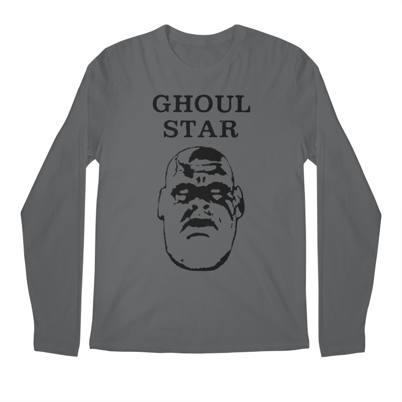 Ghoul Star Men's Longsleeve T-Shirt by megatrip's Artist Shop