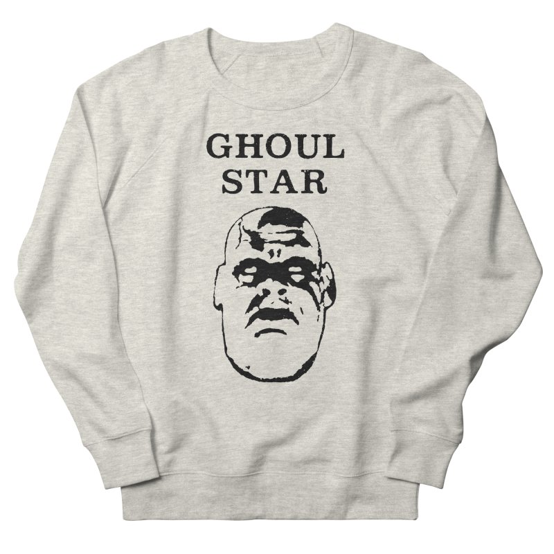 Ghoul Star Men's Sweatshirt by megatrip's Artist Shop