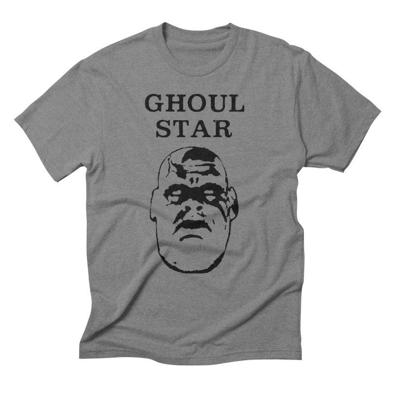 Ghoul Star Men's Triblend T-shirt by megatrip's Artist Shop