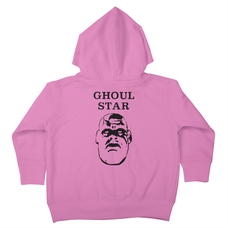 Ghoul Star Kids Toddler Zip-Up Hoody by megatrip's Artist Shop