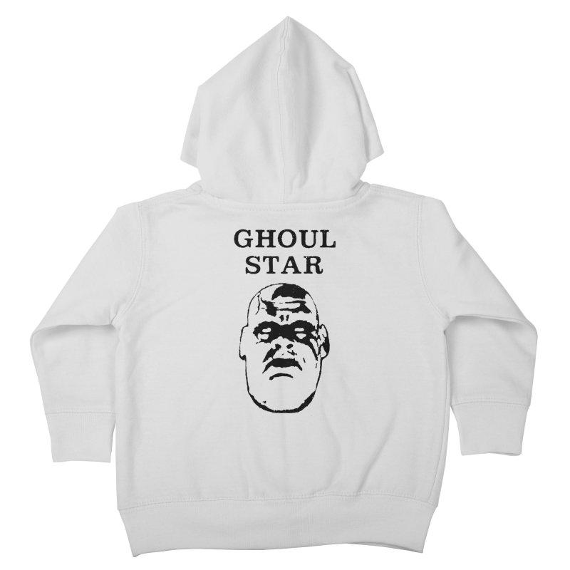 Ghoul Star Kids Toddler Zip-Up Hoody by megatrip's Artist Shop
