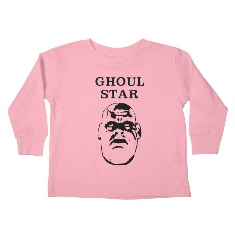 Ghoul Star Kids Toddler Longsleeve T-Shirt by megatrip's Artist Shop