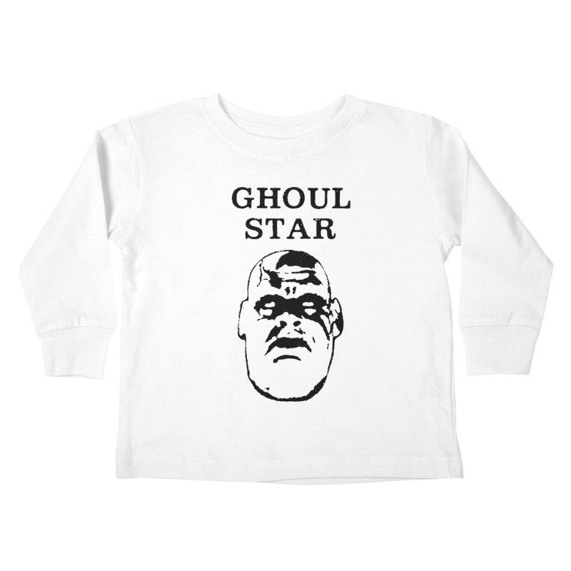 Ghoul Star Kids Toddler Longsleeve T-Shirt by megatrip's Artist Shop