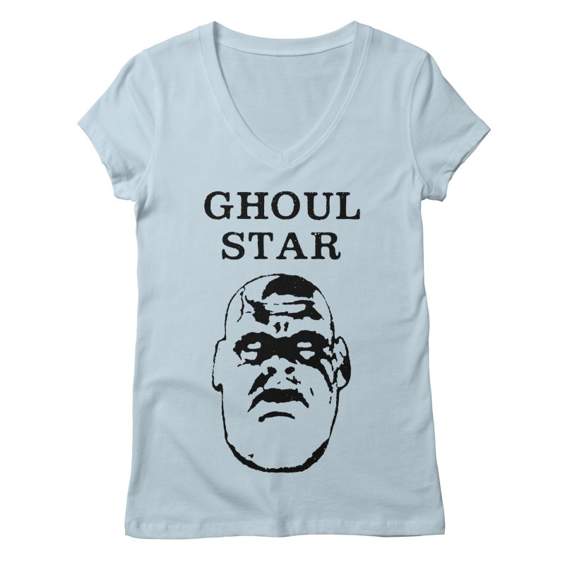 Ghoul Star Women's V-Neck by megatrip's Artist Shop