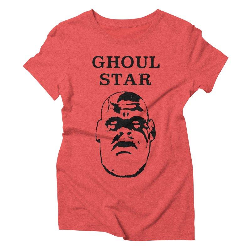 Ghoul Star Women's Triblend T-shirt by megatrip's Artist Shop