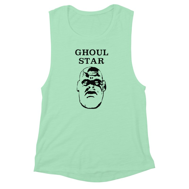 Ghoul Star Women's Muscle Tank by megatrip's Artist Shop