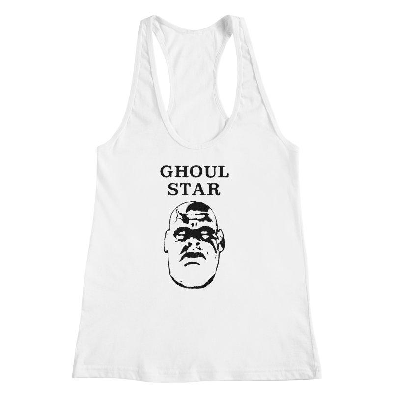 Ghoul Star Women's Racerback Tank by megatrip's Artist Shop