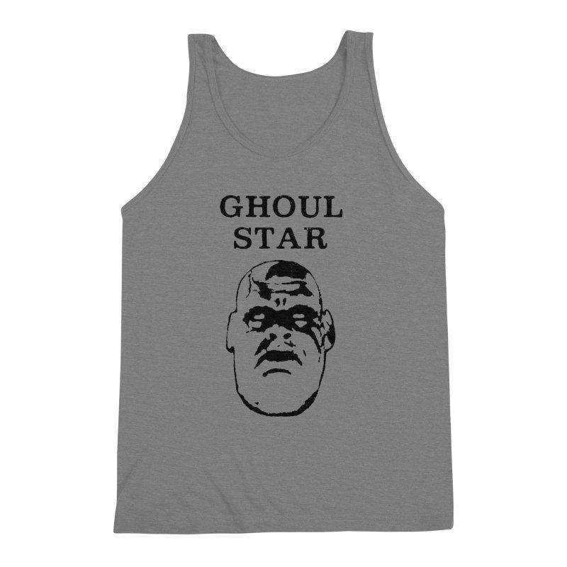 Ghoul Star Men's Triblend Tank by megatrip's Artist Shop
