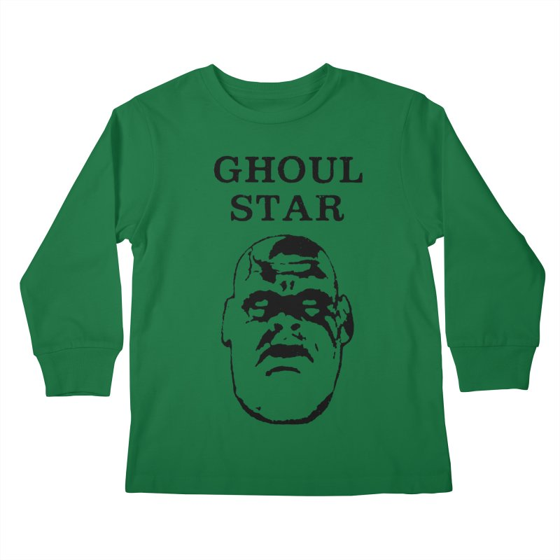 Ghoul Star Kids Longsleeve T-Shirt by megatrip's Artist Shop