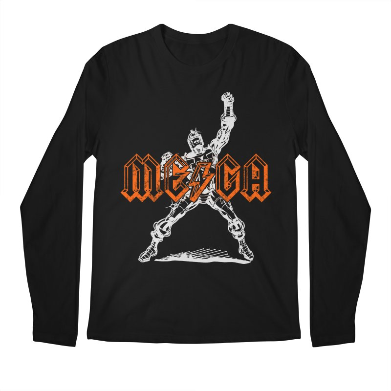 Mega-Punk Robot Men's Longsleeve T-Shirt by megatrip's Artist Shop