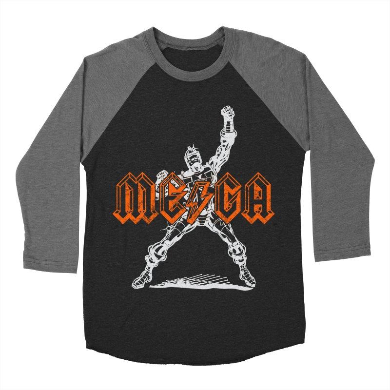 Mega-Punk Robot Men's Baseball Triblend T-Shirt by megatrip's Artist Shop