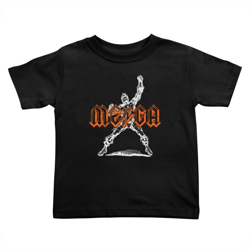 Mega-Punk Robot Kids Toddler T-Shirt by megatrip's Artist Shop