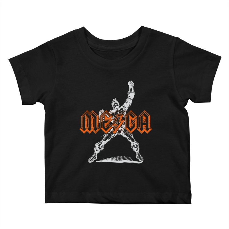 Mega-Punk Robot Kids Baby T-Shirt by megatrip's Artist Shop