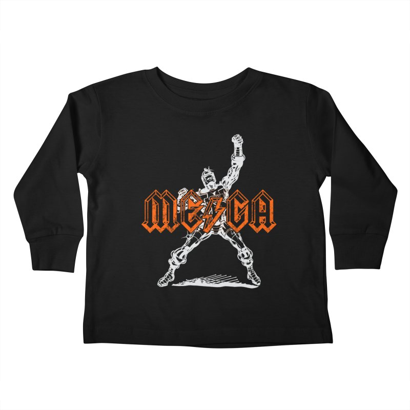Mega-Punk Robot Kids Toddler Longsleeve T-Shirt by megatrip's Artist Shop