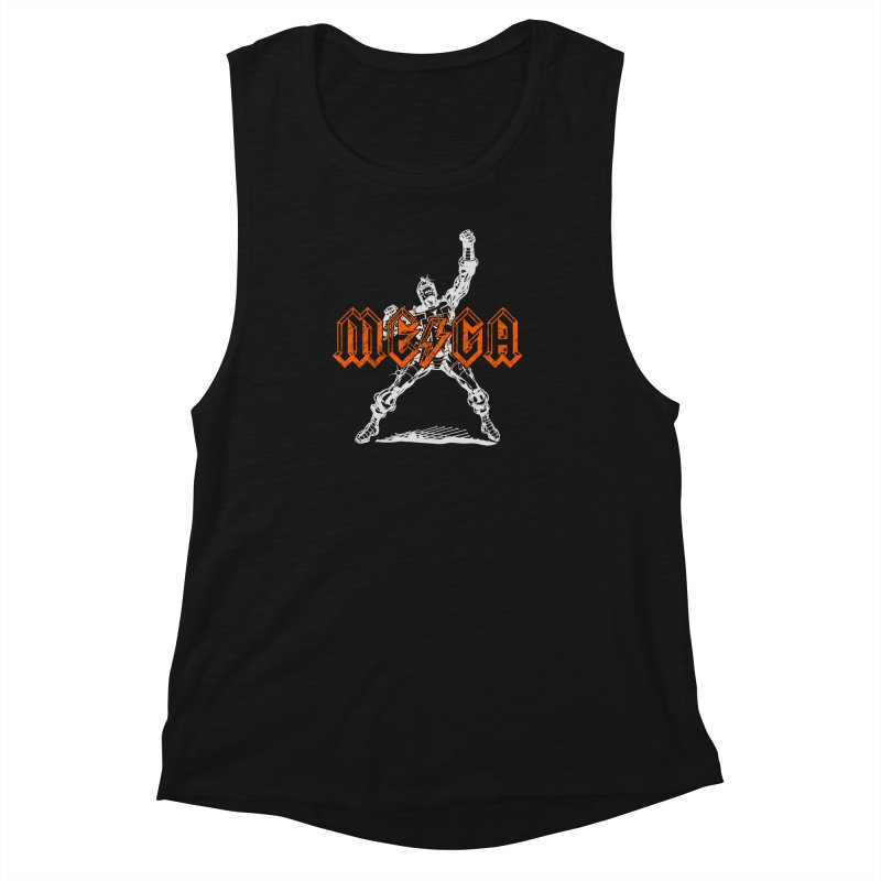 Mega-Punk Robot Women's Muscle Tank by megatrip's Artist Shop