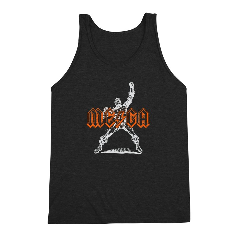 Mega-Punk Robot Men's Triblend Tank by megatrip's Artist Shop