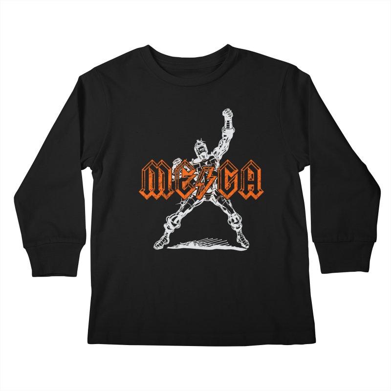 Mega-Punk Robot Kids Longsleeve T-Shirt by megatrip's Artist Shop