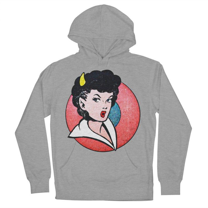 Devil Girl Women's Pullover Hoody by megatrip's Artist Shop