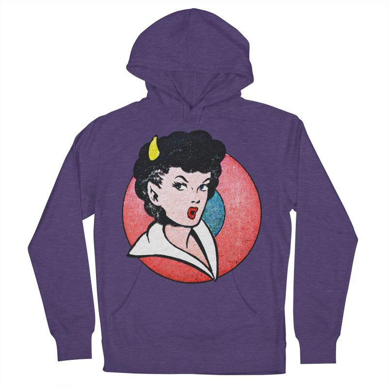 Devil Girl Men's Pullover Hoody by megatrip's Artist Shop