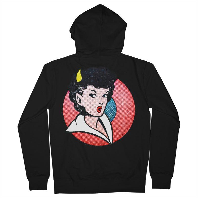 Devil Girl Men's Zip-Up Hoody by megatrip's Artist Shop