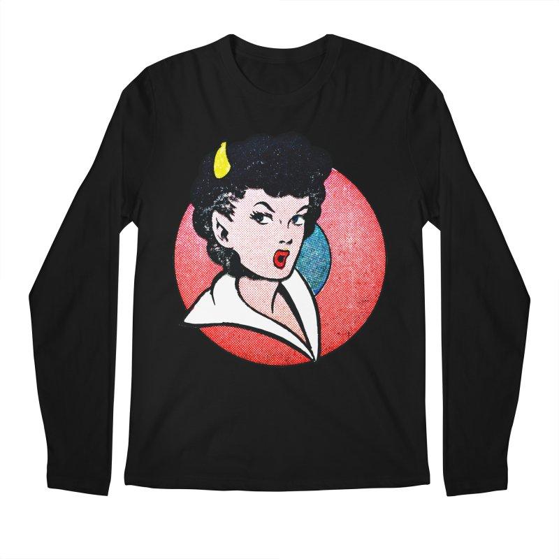 Devil Girl Men's Longsleeve T-Shirt by megatrip's Artist Shop