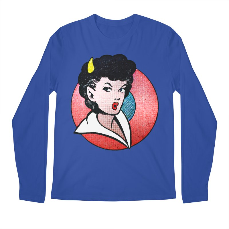 Devil Girl Men's Longsleeve T-Shirt by megatrip's Artist Shop