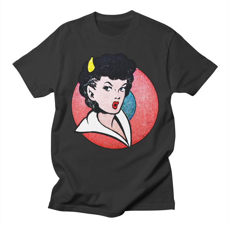 Devil Girl Women's Unisex T-Shirt by megatrip's Artist Shop