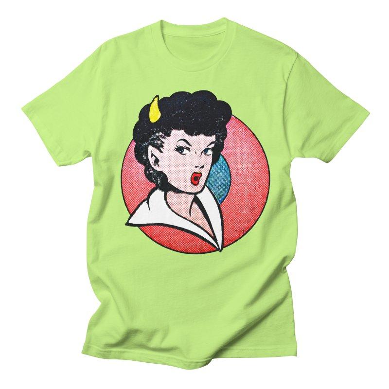 Devil Girl Men's T-shirt by megatrip's Artist Shop