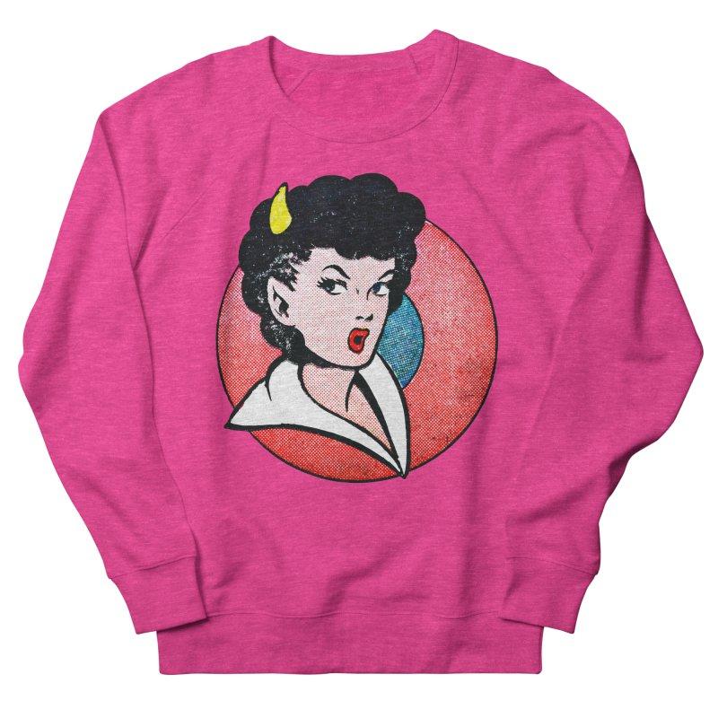 Devil Girl Women's Sweatshirt by megatrip's Artist Shop