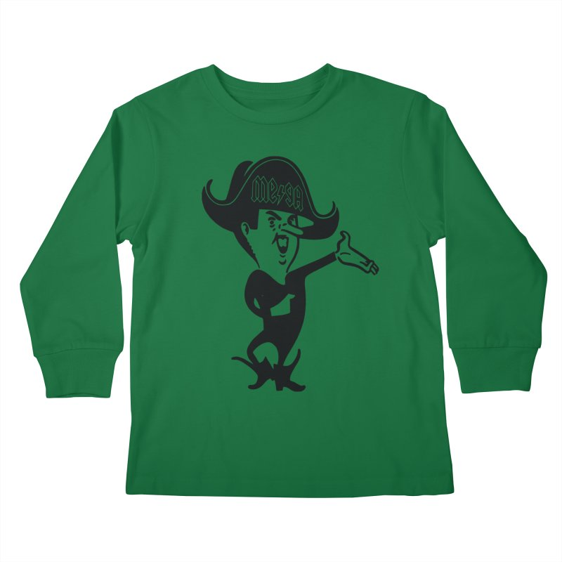 Ahoy There - Pirate Megatrip Kids Longsleeve T-Shirt by megatrip's Artist Shop
