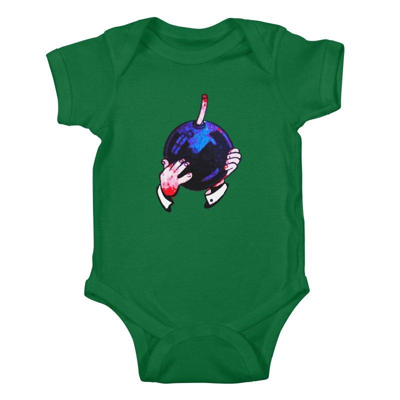 Short Fuse Kids Baby Bodysuit by megatrip's Artist Shop