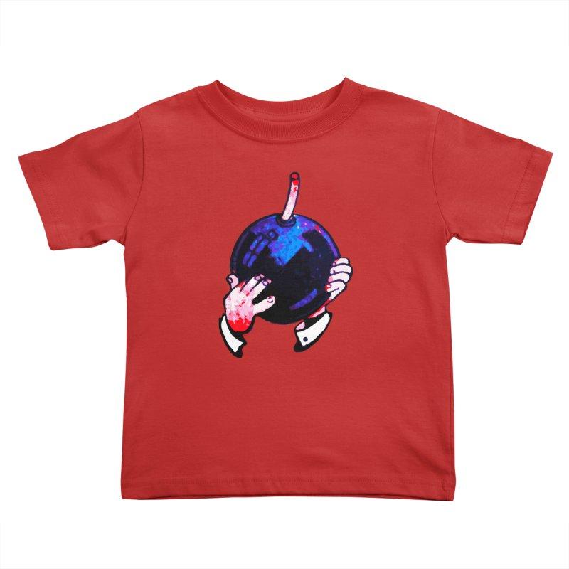 Short Fuse Kids Toddler T-Shirt by megatrip's Artist Shop