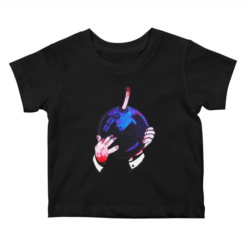 Short Fuse Kids Baby T-Shirt by megatrip's Artist Shop