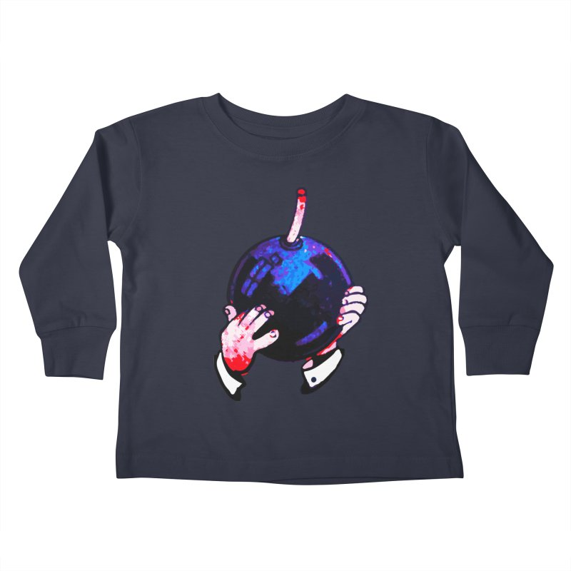 Short Fuse Kids Toddler Longsleeve T-Shirt by megatrip's Artist Shop