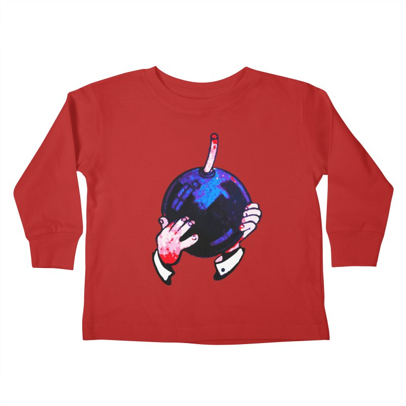 Short Fuse Kids Toddler Longsleeve T-Shirt by megatrip's Artist Shop