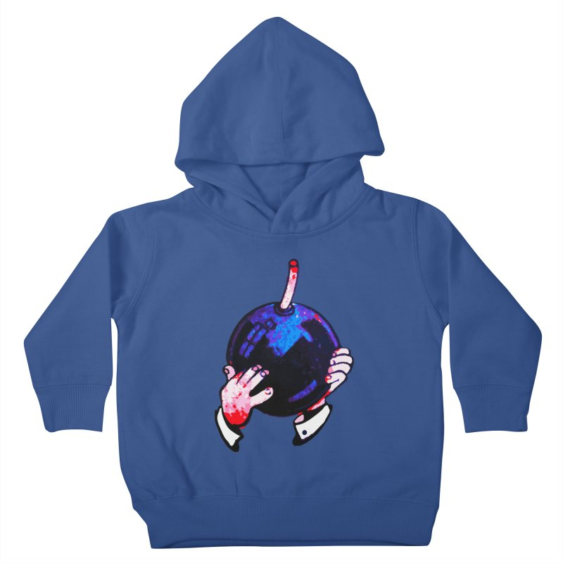Short Fuse Kids Toddler Pullover Hoody by megatrip's Artist Shop
