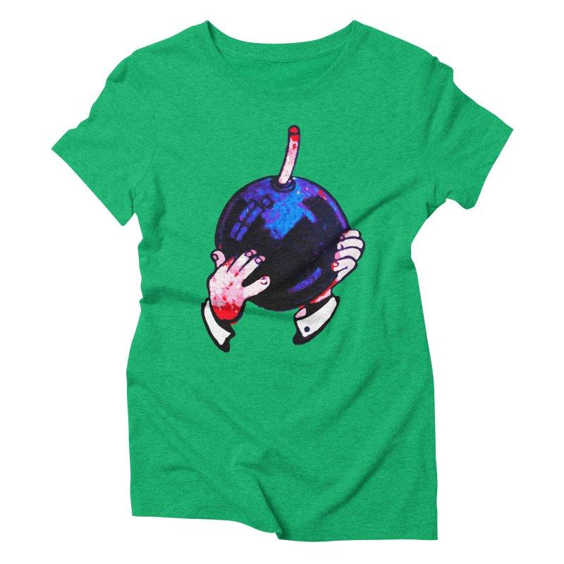 Short Fuse Women's Triblend T-Shirt by megatrip's Artist Shop