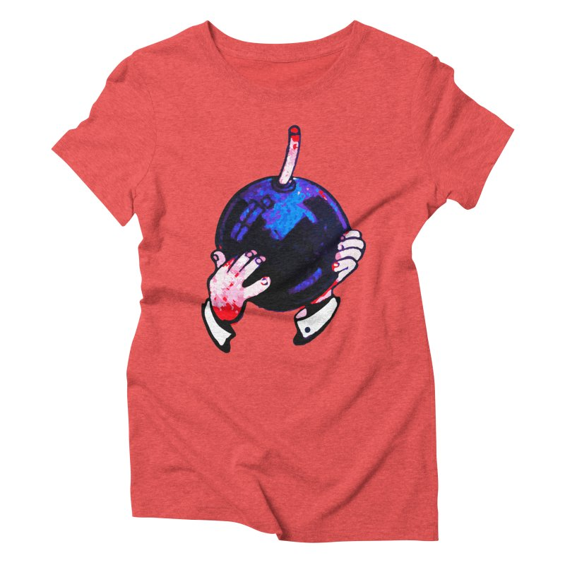 Short Fuse Women's Triblend T-Shirt by megatrip's Artist Shop