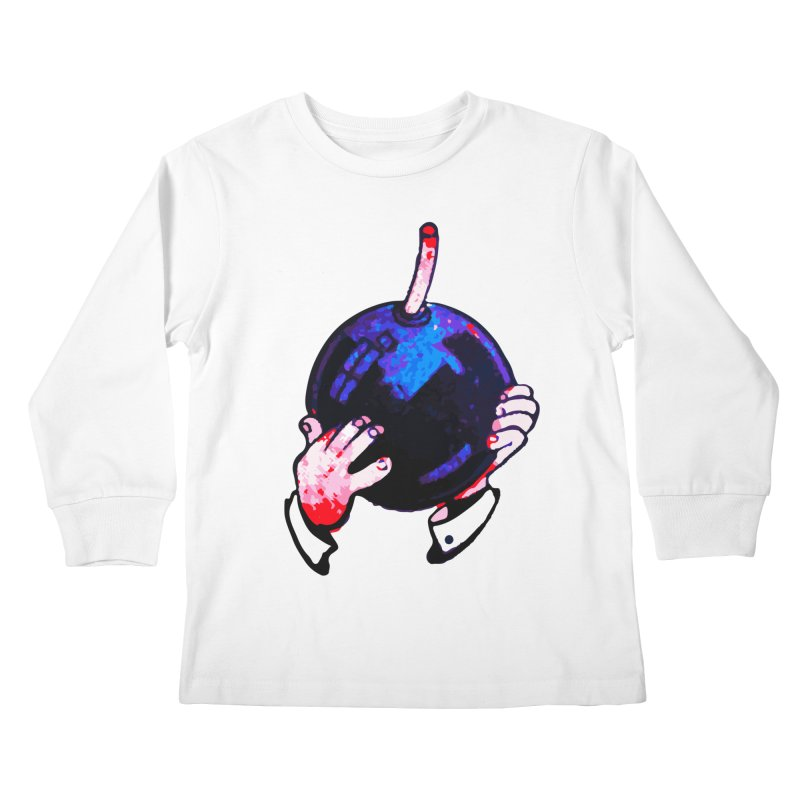 Short Fuse Kids Longsleeve T-Shirt by megatrip's Artist Shop
